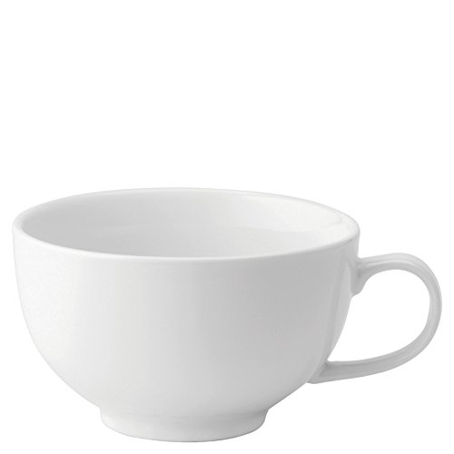 Utopia Anton Noir en porcelaine fine Z03071–000000-b01006 Continental Bol Tasse, 12 G (lot de 6)