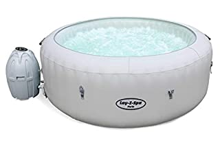 Lay-Z-Spa Paris Hot Tub with Built In LED Light System, AirJet Massage System Inflatable Spa, 4-6 Person (B07F2RGJNJ) | Amazon price tracker / tracking, Amazon price history charts, Amazon price watches, Amazon price drop alerts