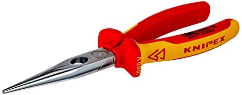 KNIPEX Alicate de montaje (alicate de boca cigüeña) aislado 1000V (200 mm) 26...