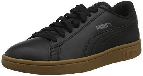 Puma Smash v2 L, Unisex-Erwachsene Sneakers, Puma Black-Gum, 45 EU (10.5 UK)