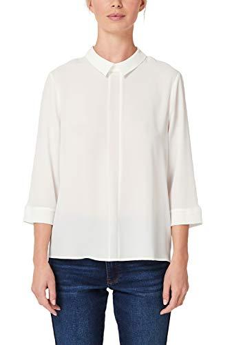 s.Oliver BLACK LABEL Damen 11.909.19.2904 Bluse, Beige (Cream White 0220), (Herstellergröße: 38)