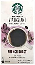 Starbucks VIA French Roast Coffee,11 oz,12 pack