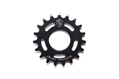 """State Bicycle Co. N/A N/A Unisex A796201625035All-City 22T x 1/8"""" Track Cog Black, Black, 22T"""