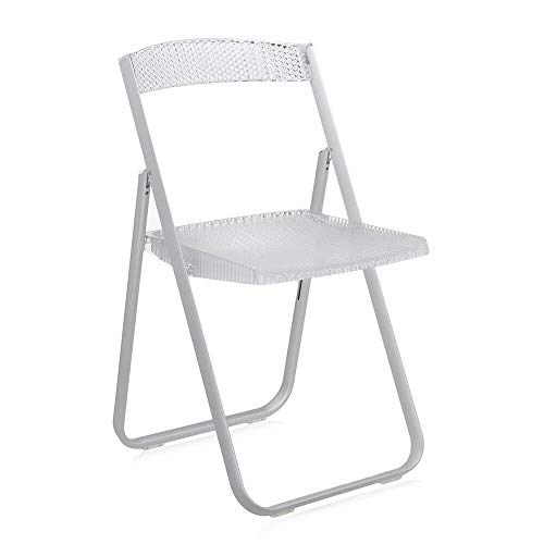 Kartell Honeycomb Transparent Crystal Folding Chair