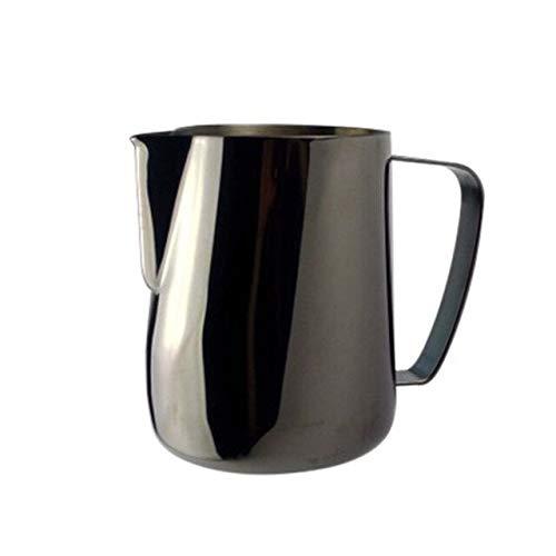 Anyiruo Jarra de leche 0.3-0.6L de acero inoxidable jarra es