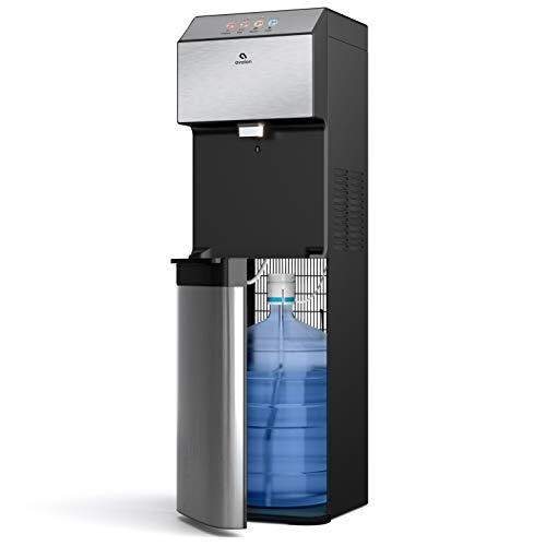 Avalon Electronic Bottom Loading Water Cooler Water Dispenser - 3 Temperatures, Hot, Cold & Room Water, Durable Stainless Steel Cabinet, Self Cleaning
