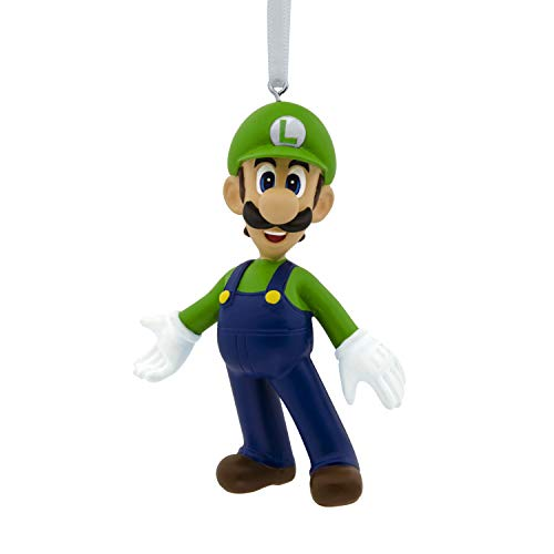 Hallmark Christmas Ornaments, Nintendo Super Mario Luigi Ornament