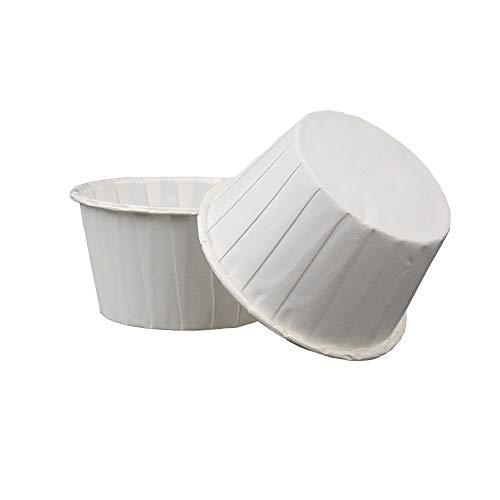 White Cupcake Baking Cups