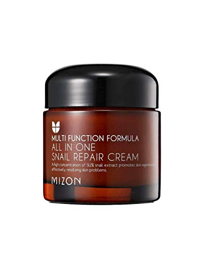 "Mizonon ""All in One Snail Repair Cream"" Pflegende Hautcreme aus Schneckenextrakt, 75 g"