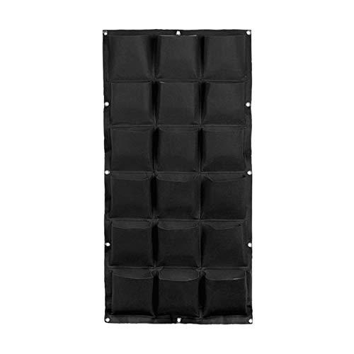 SFGHOUSE - Bolsas de cultivo para colgar en la pared vertical para jardín o exterior, para interior y exterior, 9/18/36 bolsillos
