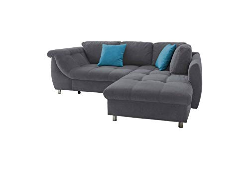 *lifestyle4living Ecksofa mit Longchair*