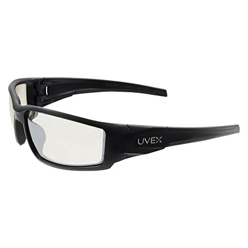 Howard Leight by Honeywell Uvex Hypershock Anti-Glare Shooting Glasses with Hardcoat Lens Coating, SCT-REFLECT 50 Lens (R-02222)