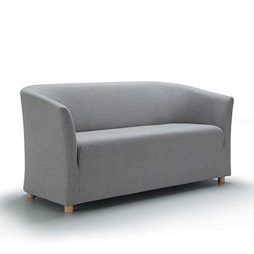 Marchio Amazon -Movian, divano 2 posti modello Laura, colore grigio