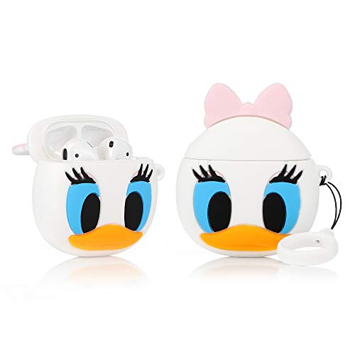 LEWOTE Airpods Carcasa Silicona Compatible Airpods