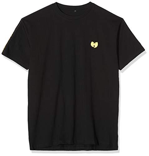 Wu Wear Herren Sidetape Tee T-Shirt, Schwarz (black), L