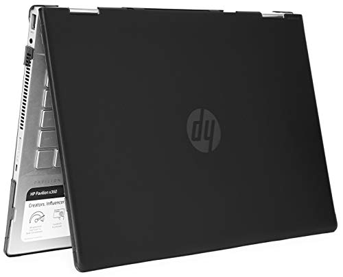 mCover Hard Shell Case for 14' HP Pavilion X360 14-CDxxxx / 14-DDxxxx Series Convertible 2-in-1 laptops (Black)