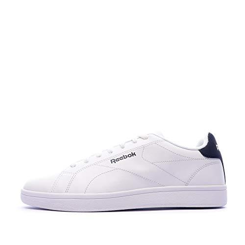 Reebok Royal Complete CLN2, Zapatos de Tenis Unisex Adulto, Multicolor (Blanco/Maruni/Blanco), 42.5 EU