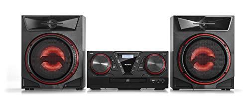 Karcher MC 5400D Kompaktanlage mit CD Player - Bluetooth Stereoanlage - UKW/DAB+ Radio mit Senderspeicher - USB zur MP3-Wiedergabe - 100 Watt RMS - Fernbedienung