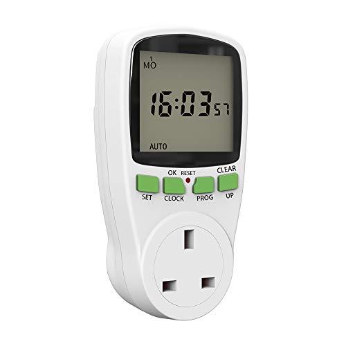 ghfcffdghrdshdfh SINOTIMER Plug Digital Weekly Programmable Plug-in Power Socket Timer Switch
