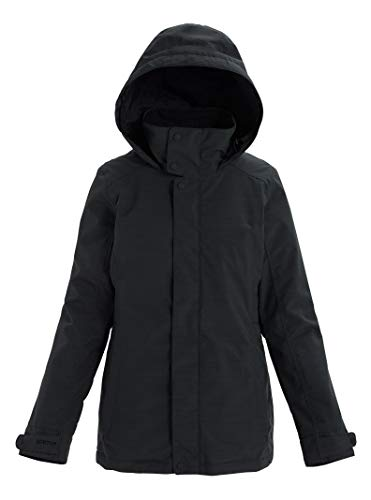 Burton Womens Jet Set Jacket, True Black Heather New, Large