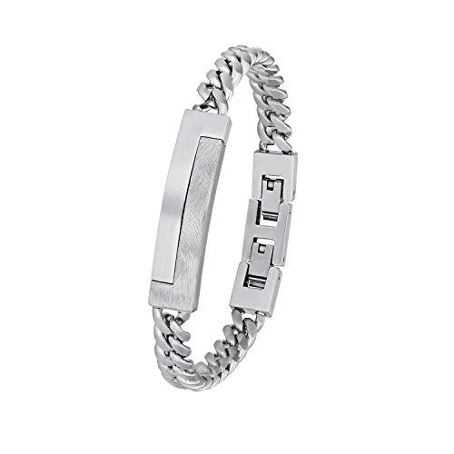 s.Oliver Armkette für Herren aus Edelstahl