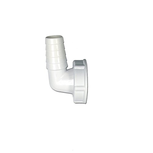 Raccordo per tubo flessibile per 2,54 cm 90° ugello angolato per lavaggio e lavastoviglie