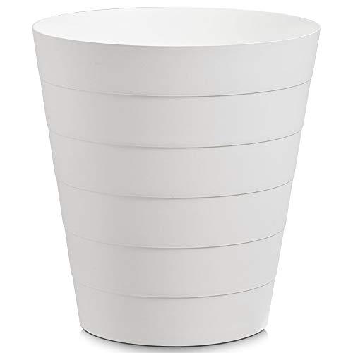 mächtig der welt Müllzeller 18107, 13,5 l, Kunststoff, Kunststoff, weiß, 29 x 29 x 30 cm