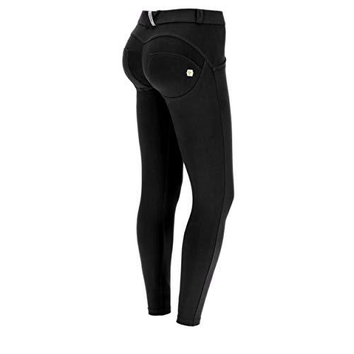 WR.UP® Super Skinny Hose, Länge 7/8 cm, Größe M Gr. X-Small, Schwarz