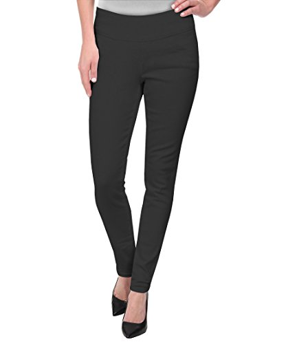 Hybrid & Company Super Comfy Stretch Pull On Millenium Pants KP44972 Charcoal Small