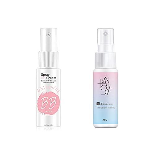 Concealer Make-up Spray BB Creme - Mattöl Control Whitening Wasserdicht Schweißfest Langlebige Aufhellung Aufhellen Hautton, Augensäcke mit voller Abdeckung, Augenringe,...