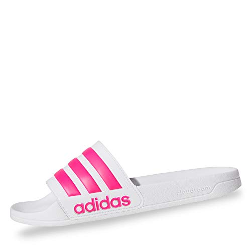 Adidas Adilette Shower, Jungen Dusch- & Badeschuhe, Weiß (Ftwbla/Rossen/Ftwbla 000), 38 EU (5 UK)