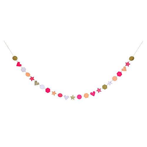 Meri Meri Pink Glitter Garland