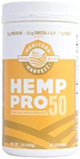 Hemp Yeah! Balanced Protein + Fiber Manitoba Harvest 16 oz Powder