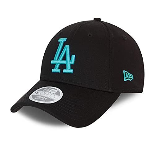 New Era Los Angeles Dodgers MLB Cap Basecap Kappe Baseball Damen Frau schwarz - One-Size