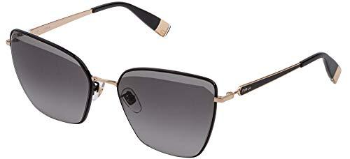 Furla SFU403N - Gafas de sol para mujer, color negro y gris