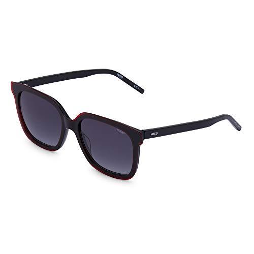 Hugo Boss HG 1051/S, gafas de sol Mujer, negro/rojo, 50