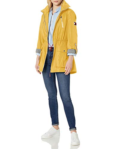 Tommy Hilfiger - Anorak con forro de jersey para mujer