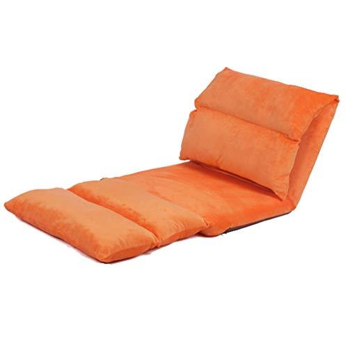 canapé pliant- Canapé paresseux, pliable amovible et lavable, unique long loisirs chaise flottante chaise lit dossier chaise tissu japonais (Couleur : B)