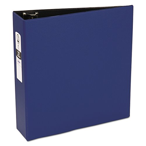 Avery 03601 Economy Non-View Binder with Round Rings, 11 x 8 1/2, 3