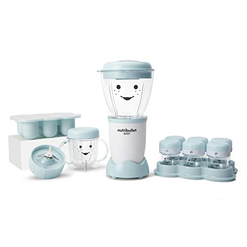 NutriBullet NBY-50100 Baby Complete Food-Making System, 32-oz, Blue