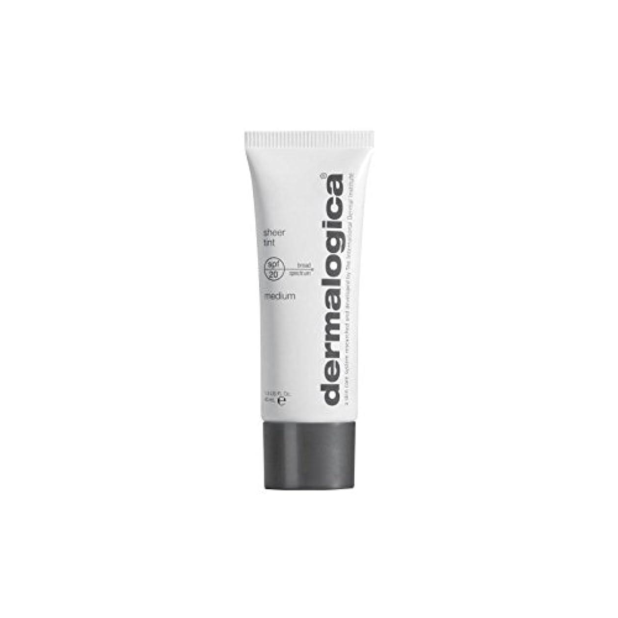 ギャラントリーレンダー代理店Dermalogica Sheer Tint Spf 20- Medium (Pack of 6) - ダーマロジカシアーティント 20-メディア x6 [並行輸入品]