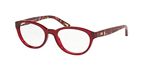 Ralph Lauren POLO 0PP8526 Monturas de gafas, Red Transparente, 49 para Mujer