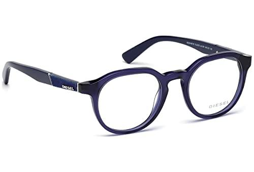 Diesel DL5250 Monturas de gafas, Morado (Viola Luc), 48.0 Unisex Adulto