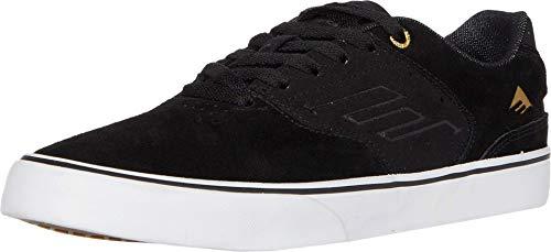 Emerica Men's Skate Shoe, Black/Gold/White, 9.5