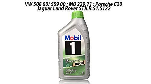 Mobil 1 Aceite de Motor, 1 l, ESP X2 0W-20: Amazon.es: Coche y moto