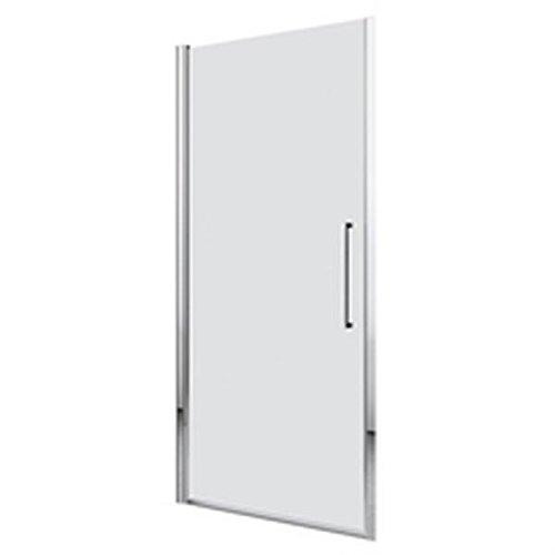 Porta girevole Young 2.01B 80cm Trasparente Silver