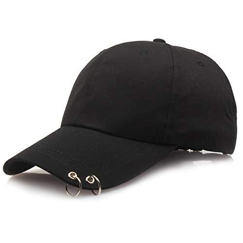 Saicowordist KPOP BTS LIVE The Wings Tour Concert Same Heel Black Ring Hat Unisex Pair Hat Adjustable Hot Gift