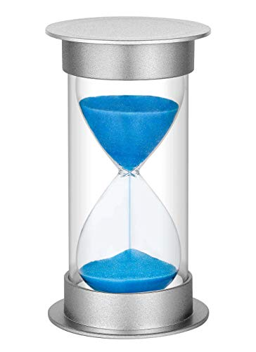 SuLiao 5 minute Sand Timer, Hourglass Sand Clock Timers for Kids