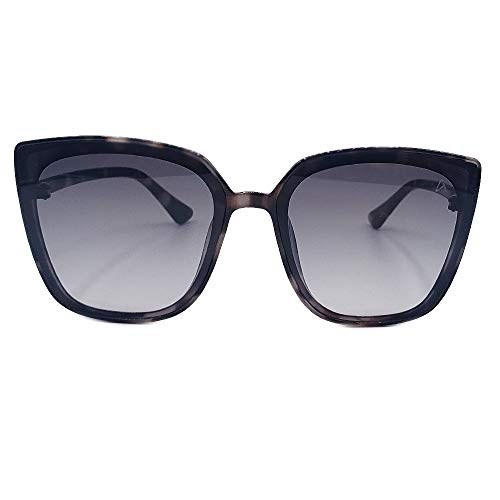Oculos Sol Feminino Autentic gatinho rajado branco preto