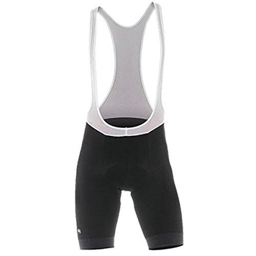 Giordana Mens Fusion Cycling Bib Shorts - GI-S3-BIBS-FUSI (Black - 4XL)